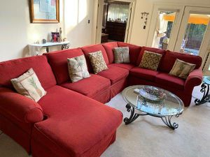 Sectional Couch w/ Queen size Hide a Bed for Sale in Cocoa Beach, FL