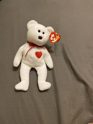 Rare beanie baby Valentino the bear for Sale in Placerville, CA