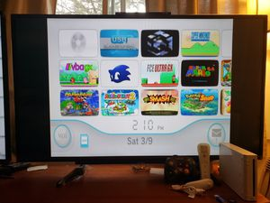 Nintendo Wii console w 100's of games Gamecube n Wii games NES, SNES, GBA, N64, Sega, for Sale in Falls Church, VA