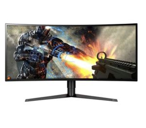 "LG 34GK950F-B 34"" 21:9 Ultragear WQHD Nano IPS Curved Gaming Monitor with Radeon FreeSync 2, Black for Sale in Los Angeles, CA"