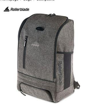 Rollerblade Urban Commuter Backpack, Inline Skating, Multi Sport, Bag, Grey for Sale in Reynoldsburg, OH