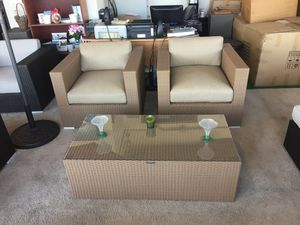 Three pieces Patio furniture for Sale in San Diego, CA