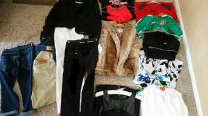 Designer clothing. Blazer. Fur vest. Dresses. BEBE. Armani exchange. Guess for Sale in Macomb, MI