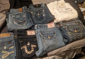 Tru Religion, MissMe, Rock revivals, BKE, 7Jeans Lot for Sale in Spanaway, WA