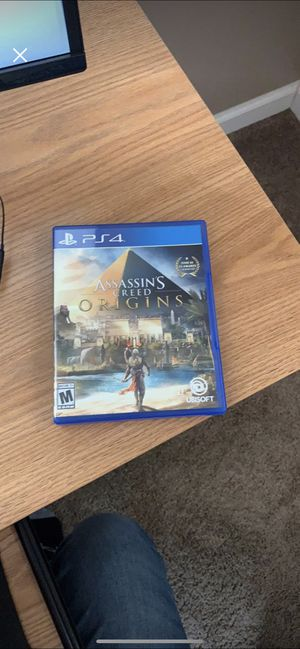 Assassins Creed Origins PS4 for Sale in Kingsport, TN