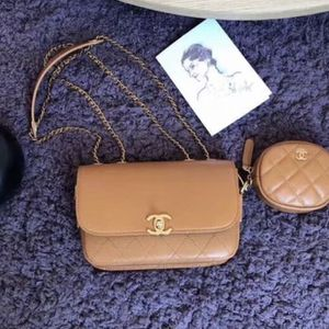 Chanel flap bag coin purse (authentic ) for Sale in Los Angeles, CA