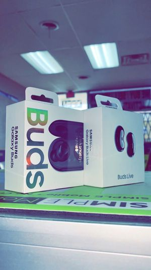 Samsung Galaxy Buds Live / Buds Plus / Buds Regular - Brand New In Box! (Never Used) for Sale in Arlington, TX