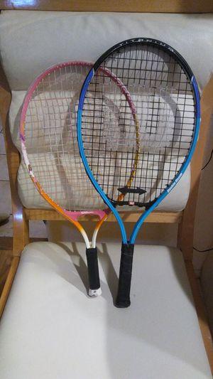 Two Wilson Titanium Tennis Rackets for Sale in Miami, FL