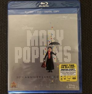 Mary Poppins Blue Ray & DVD for Sale in Huntington Beach, CA