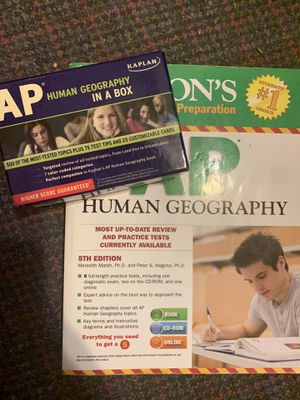 AP Human Geography Review Set (Delivery) for Sale in Floral Park, NY