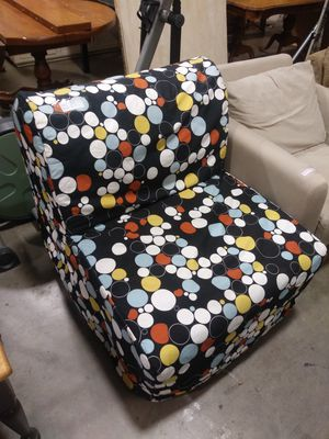 Lounge chair futon style turns into cot for Sale in Bend, OR