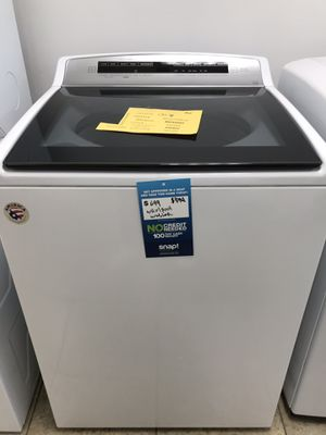 Whirlpool 4.8 cu. ft. HIGH-EFFICIENCY Whit Top Load Washer Full one year warranty take home for $39 down for Sale in Miami, FL