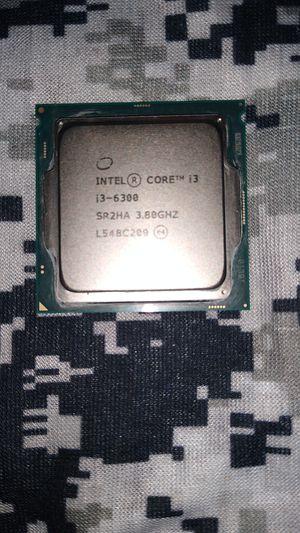 Intel i3-6300 for Sale in Burlington, WA
