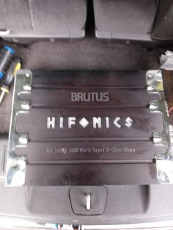 Car Amp for Sale in Prospect Heights, IL