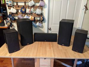 Klipsch 5.1 Surround Sound Speakers for Sale in Swarthmore, PA