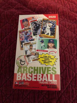 2020 Topps archives baseball cards blaster box $25 for Sale in Calverton, MD