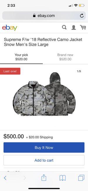 Supreme jacket for Sale in Boston, MA