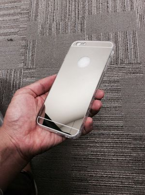 Fashion luxury HD Silver mirror case for iPhone 6 Plus and/or 6s plus for Sale in New York, NY