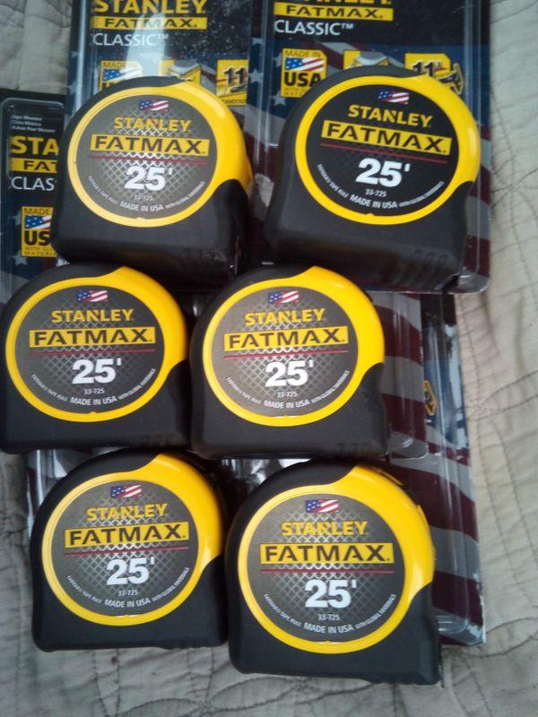 6 FatMax Measuring Tapes