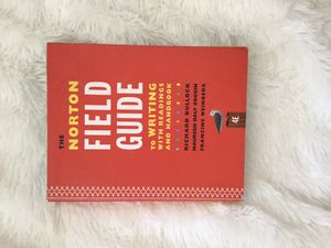 Norton Field Guide to Writing 4th Edition for Sale in Medina, OH