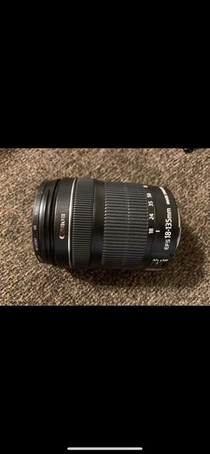 Canon 18-135mm lens for Sale in Fort Walton Beach, FL