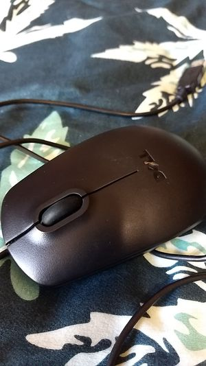 Black Dell Wired Mouse for Sale in Raymond, WA