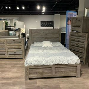 Crown Mark Bateson Brown Bedroom Set for Sale in Plano, TX