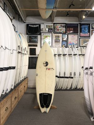 "5'6"" Town & Country Glenn Pang Winged Swallowtail Surfboard; Used for Sale in Deerfield Beach, FL"