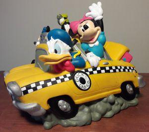 Disney PVC Bank vintage mickey mouse goofy donald duck cab car for Sale in Marietta, GA