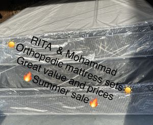 orthipedic mattress for Sale in Des Plaines, IL