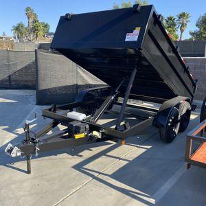 Brand New 8x12x2 Dump Trailer for Sale in Corona, CA