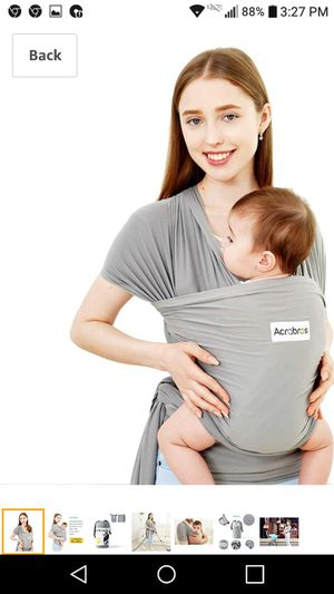 New! Baby wrap carrier for baby 8lb to 35lb for Sale in Lake Worth, FL