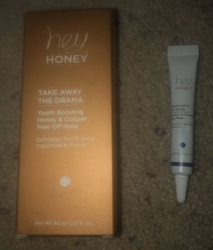 Hey Honey Take Away the Drama Honey and Copper Peel Off Mask 2 fl oz 60 ml NEW for Sale in Pueblo West, CO