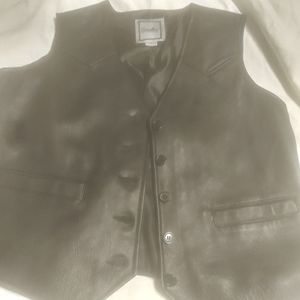 Excelled leather vest soft leather for Sale in Chicago, IL