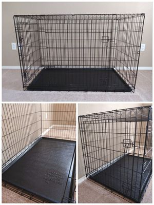 """XL 48"""" Pet Dog Double Door Cage Crate Kennel with Divider for Sale in Mesa, AZ"""