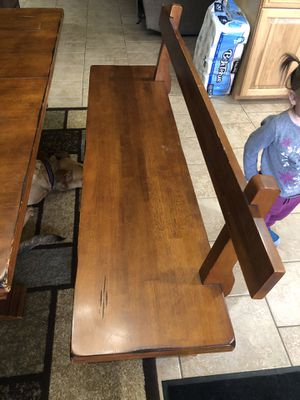 Solid wood kitchen table for Sale in DEVORE HGHTS, CA