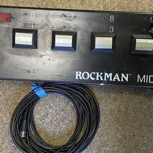 Midi pedal by rock man for Sale in Castro Valley, CA