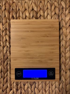 Taylor bamboo kitchen scale for Sale in Burlington, WA