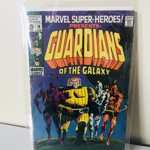 Marvel Super-Heroes #18 Guardians Of The Galaxy First Debut for Sale in Richmond, CA