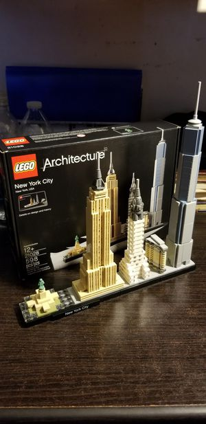 Lego architecture new york for Sale in Downey, CA