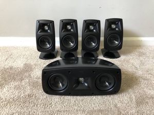 Klipsch Quintet Home Theater Surround Speakers for Sale in Mount Prospect, IL
