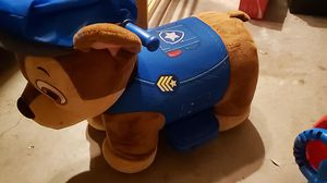 Paw patrol ride on chase police dog for Sale in Fort Worth, TX