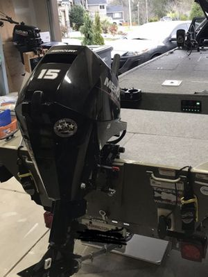 Mercury 2018 15hp EFI 4 stroke, short shaft for Sale in Seattle, WA