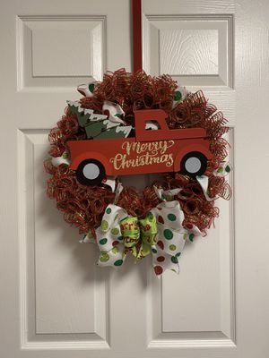 Handmade Christmas Wreath for Sale in Raleigh, NC