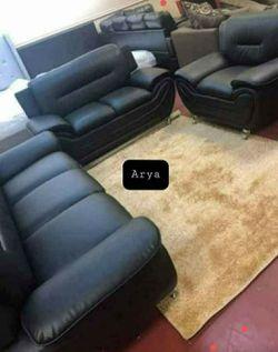 🔥Best Price Brand🆕️ Enna Black living Set for Sale in Alexandria,  VA
