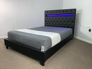 Cama LED... LED BED FRAME for Sale in Miami, FL