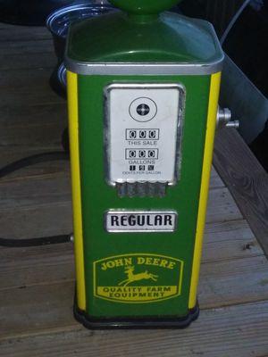 John Deere old decorative gas pump for Sale in Clarksville, TN