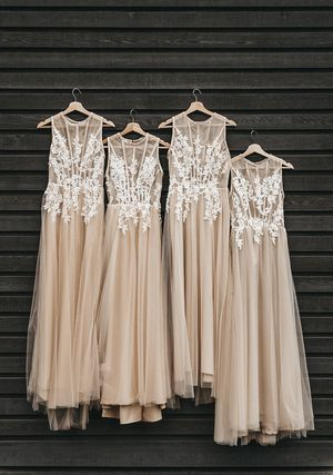 Champagne Tulle Dress for Sale in Portland, OR