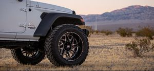 Hardrock Wheels brand new (2mo old) on new 37s amp tires MT. for Sale in Las Vegas, NV