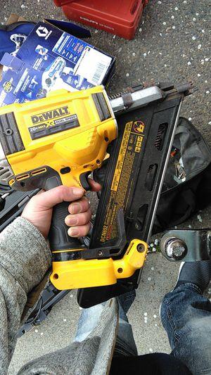 DeWalt nail gun for Sale in Sacramento, CA